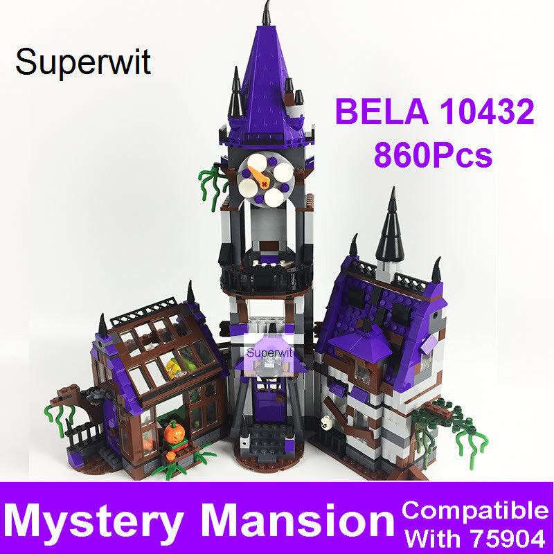 Juguete tipo LEGO SCOOBY DOO mansión fantasma