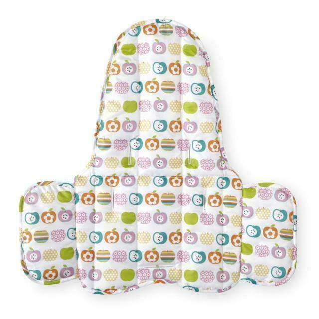 High Chair Seat Pad Zobo Summit Fun Fruit Or Whale Design Machine Washable New