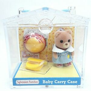 Sylvanian-Families-Baby-Carry-Case-Bear-figure-toy-doll-Flair
