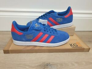Adidas-gazelle-Size-8-UK-Blue-Red-White-FY1361-Trainers-Sneakers
