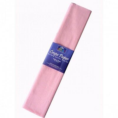 50CM X 2M CREPE PAPER | CHOICE OF COLOURS | FREE DELIVERY