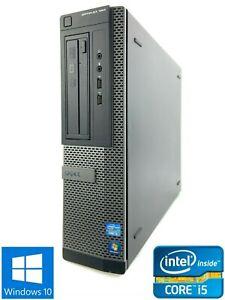Dell Optiplex 390 DT - 500GB HDD, Intel Core i5-2400, 8GB RAM - Win 10 Pro