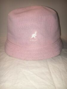 c896a11696cd2 Image is loading Kangol-Tropic-Bin-Bucket-Pink-Spring-Summer-Hat-