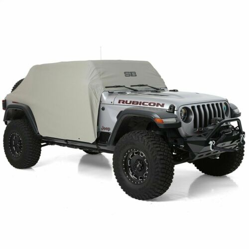 Smittybilt 1071 Cab Cover Gray W//Door Flaps For Jeep Wrangler JL Unlimited 4 Dr