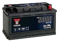 Yuasa YBX9115 Start-Stop Battery