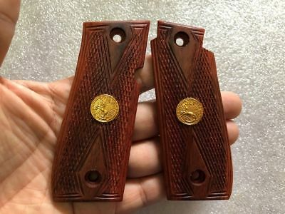 Gorgeous Paduak Hardwood Grip For Browning BDA 380 ACP Checkering Free Shipping!