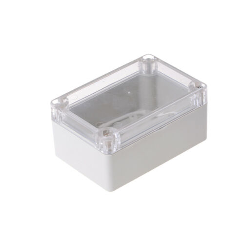 100x68x50mm Waterproof Cover Clear Electronic Project Box Enclosure Case WB