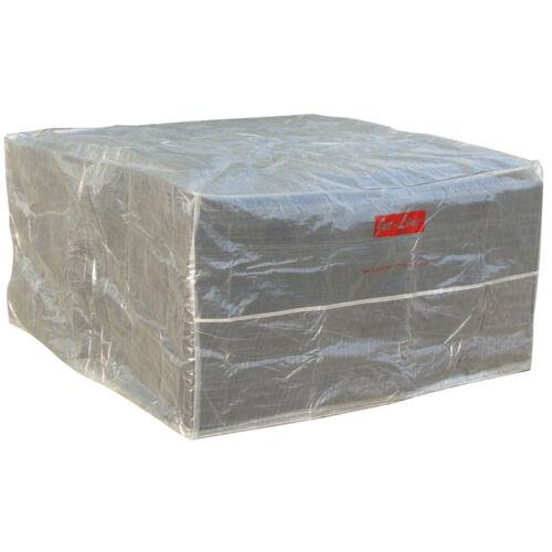 Housse de protection mobilier de jardin capot protection contre les intempéries couvercle 1.4m x 1.4 M