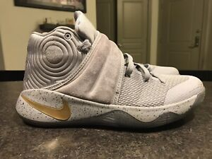 Nike Kyrie Irving 2 Battle Gray Basketball Shoes; Men's Size ...