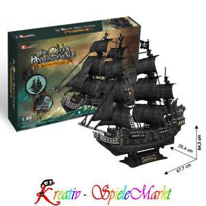 Flight Tracker Cubic Fun 3d Puzzle Queen Annes Revenge Schiff Piratenschiff Blackbeard 1:95 Um Sowohl Die QualitäT Der ZäHigkeit Als Auch Der HäRte Zu Haben Schiffe