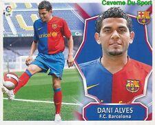 DANI ALVES BRAZIL FC.BARCELONA ULTIMOS FICHAJES STICKER LIGA ESTE 2009 PANINI