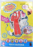 YO GABBA GABBA Bath Buddies SET OF 21 Muno Brobee Foofa Toodee Plex Reusable NEW Toys