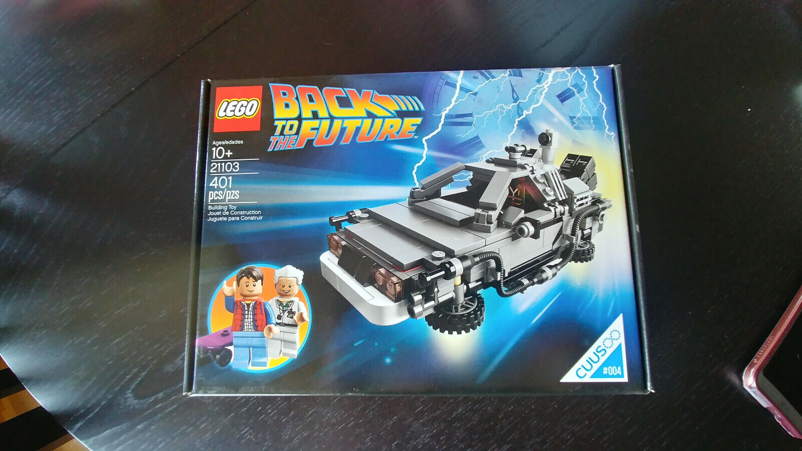 LEGO Ideas Cuusoo 21103 Delorean Back to The Future NEW SEALED RETIrot
