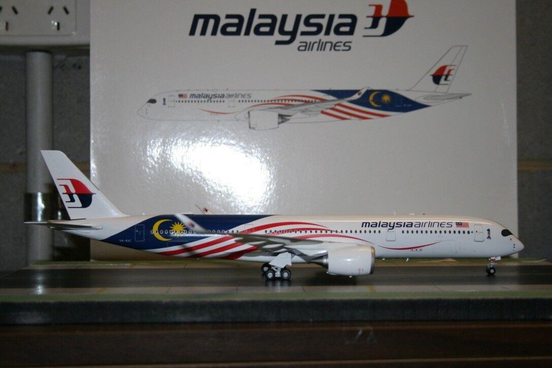 JC Wings 1 200 Malaysia Airlines Airbus A350-900 9M-MAC  Negaraku  (LH2119)