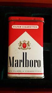 Pack-Of-Marlboro-Red-Box-Cigarette-CAJA-Estuche-Funda-Can-Collector-Vintage-Lata
