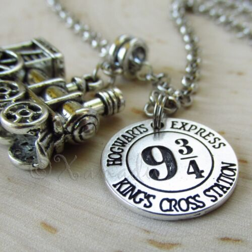 Harry Potter Hogwarts Express Platform Nine And Three Quarters Necklace