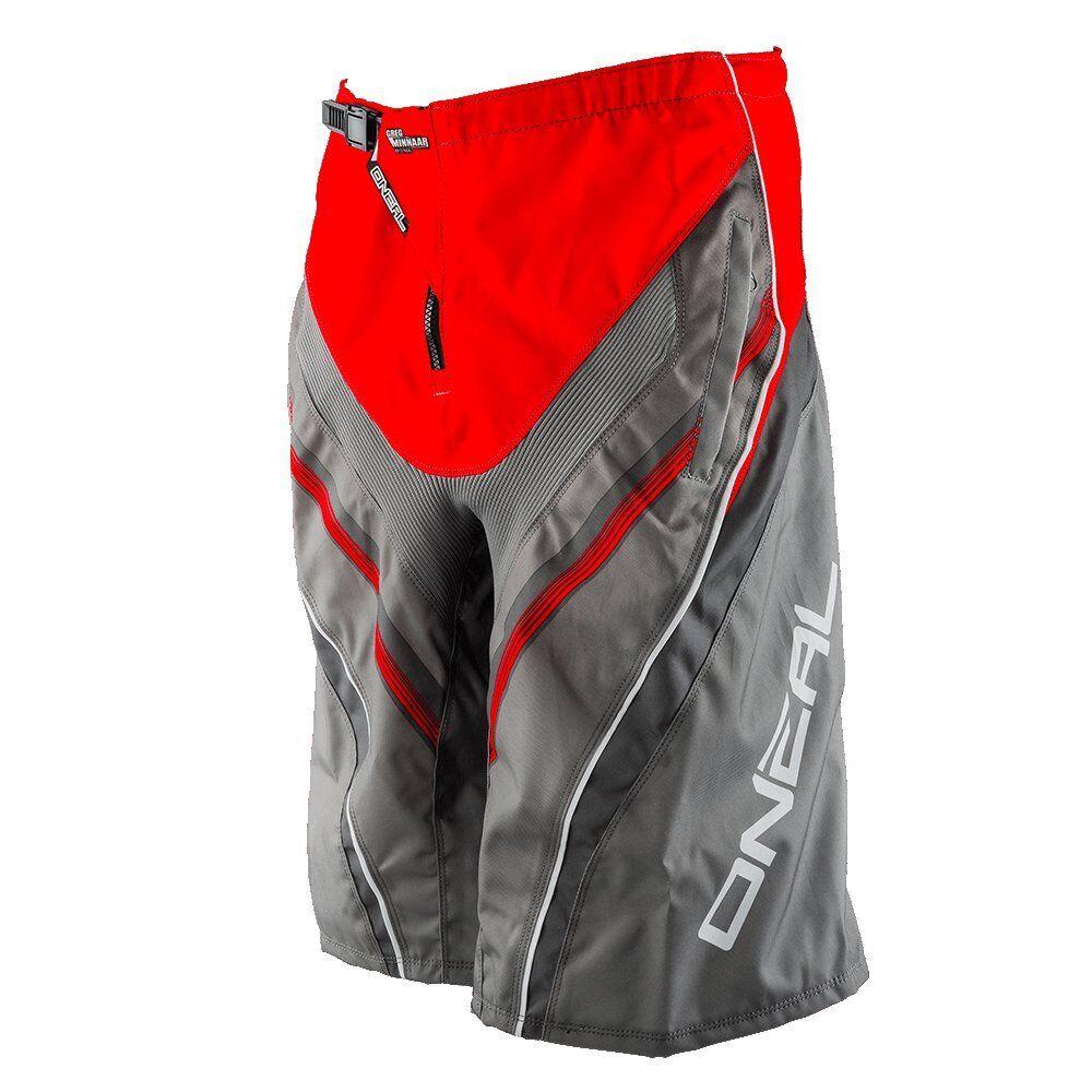 O 'Neal Element FR MTB Ciclismo Corto Rojo gris para  Hombre Talla M  más descuento
