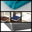LUSTROUS SHINE /& SILKY SATIN SOLID DRESSING BED FITTED SHEET AVAILABLE ALL SIZES