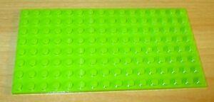 Lego Friends plaque 8 x 16 d'dans lime-vert citron - 3865  </span>