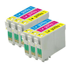 6 C/M/Y Cartucce d'Inchiostro per Epson Stylus DX4050 DX8400 SX205 S21