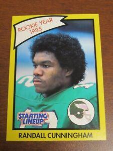 "Randall Cunningham 1990 Kenner Starting Lineup Card ""RC"" - Philadelphia Eagles"