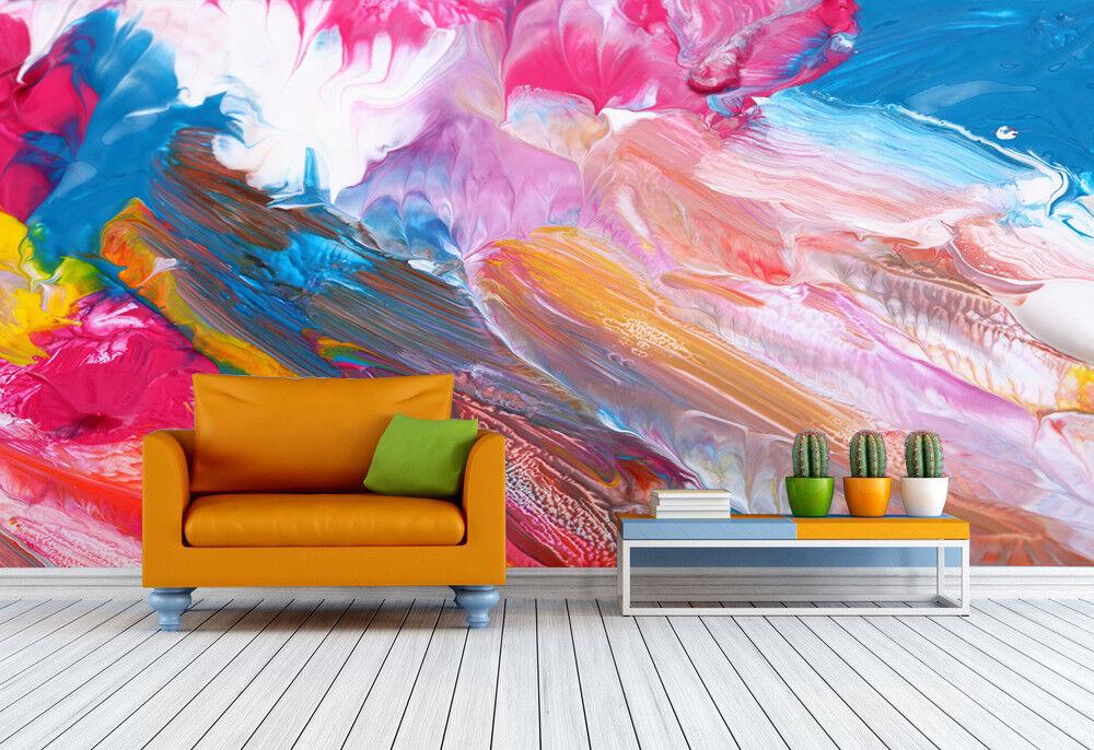 3D Aquarell Malerei 73 Tapete Wandgemälde Tapete Tapeten Bild Familie DE | Diversified In Packaging  | Neuer Stil  | Attraktiv Und Langlebig