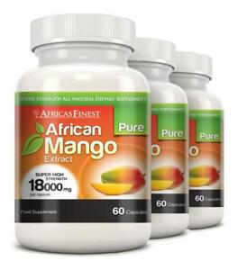 Africas-Finest-Pure-African-Mango-Pills-18000mg-180-Capsules-Evolution-Slimming