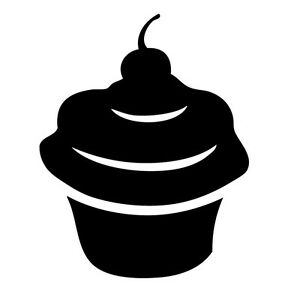 Cupcake-Vinyl-Sticker-Decal-Funny-JDM-Choose-Size-amp-Color