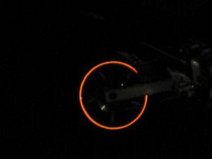 3M™ 580 scotchlite reflective vinyl tape orange 7mm x 6MT original stripe new!!!