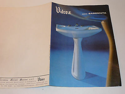 Vintage vitrex catalogue old bathroom sagomata sink Castellana vt | eBay