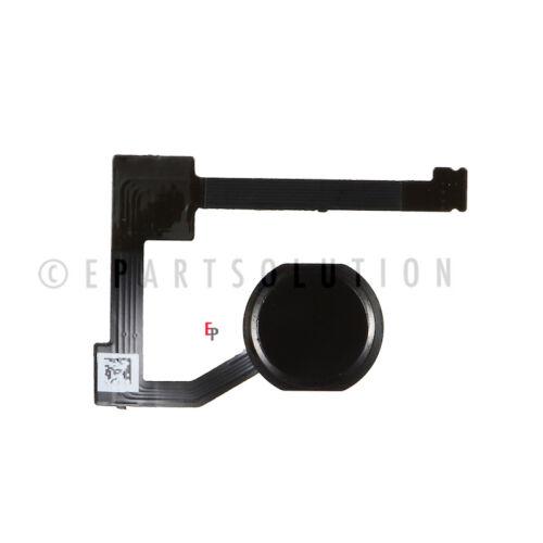 iPad Mini 4 Black Home Menu Button Fingerprint Sensor Flex Repair Part USA