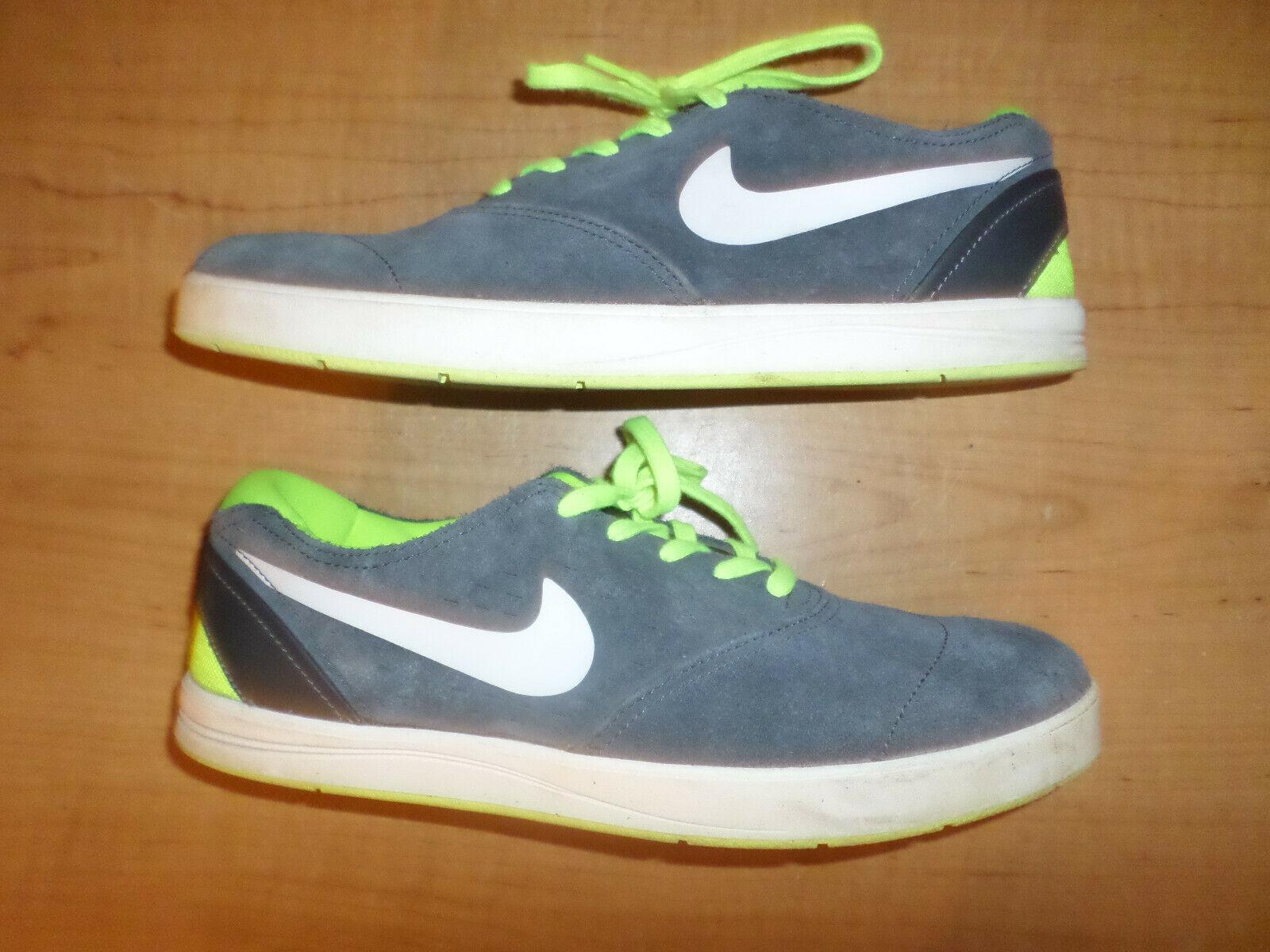 Desarrollar Instantáneamente Inferir  Nike SB Eric Koston 2 Lunarlon 580418-301 MINT Blue Suede Men's Size 10.5  for sale online | eBay