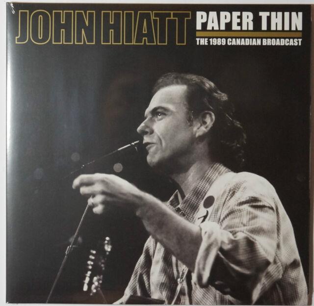 John Hiatt - Paper Thin - The 1989.. 2LP 140g limited vinyl ONLY 1000 NEU/SEALED