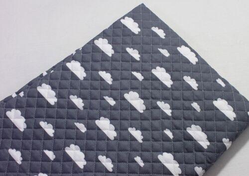 Nube flotante tejido acolchado mezcla de algodón listo previamente acolchada acolchado nubes JQ 46 @
