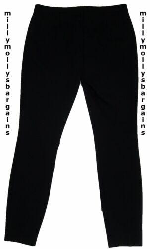 NUOVA linea donna Spencer Nero Marks /& Treggings Taglia 16 14 12 8 Medio Lungo