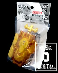 TAKARA-TOMY-Beyblade-BURST-B-00-Chrome-Gold-Left-Right-LR-Launcher-ThePortal0
