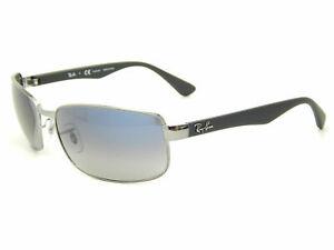 Ray Ban RB3478 004/78 Gunmetal / Blue Gradient Polarized 60mm Sunglasses