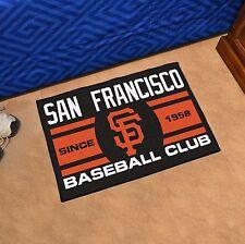 """San Francisco Giants Uniform Inspired 19"""" X 30"""" Starter Area Rug Floor Mat"""