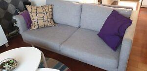 2 X 2 5 Used Domayne Lounge Seaters Ebay