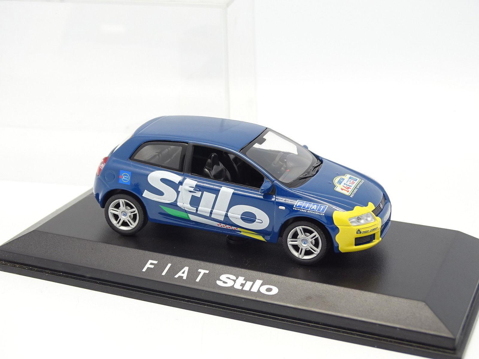 Norev 1 43 - Fiat Stilo Tour de de de France 2002 bluee e3743c