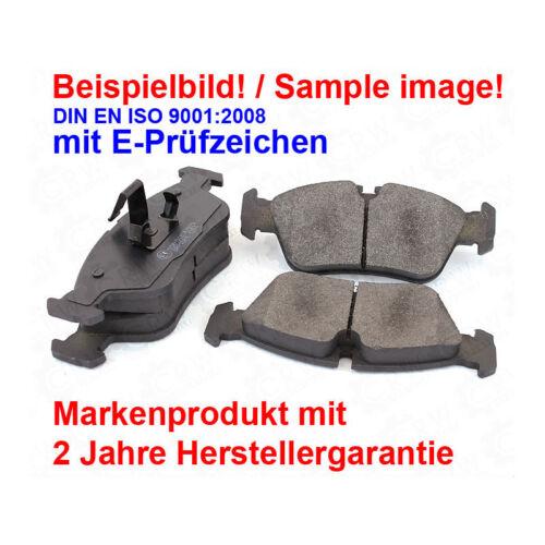 Bremsscheiben Bremsbeläge vorne für Renault Clio III BR0//1 CR0//1 Modus//Grand