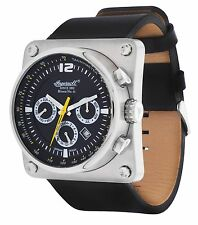Ingersoll Herren Armbanduhr Bison No.43 Limited Edition Schwarz IN4108SBK
