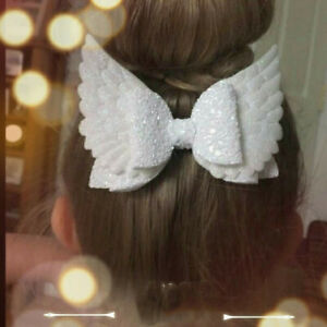 Angel-Wing-Princess-Glitter-Hair-Bows-with-Clip-Dance-Party-Bow-Hair-Clip