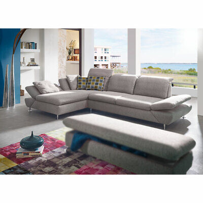 Ecksofa Taoo Wohnlandschaft Sofa Polstermobel In Steel Grau Von W Schillig Ebay
