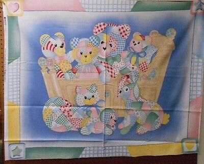 "1 ""Cradle Babies"" Baby Panel Fabric"
