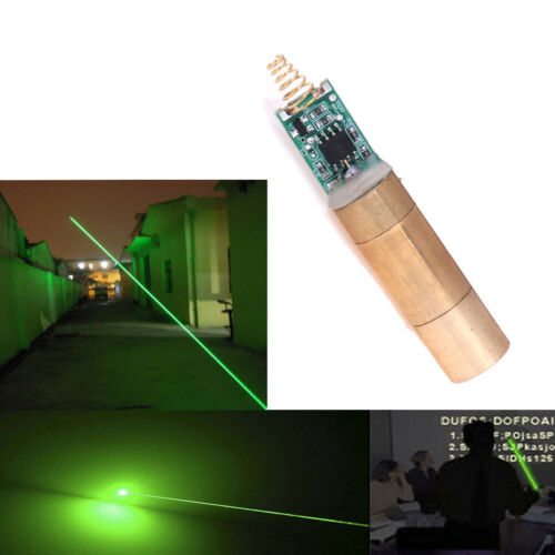 532nm 30-50mW Green Laser Module Laser Diode light Free Driver HD