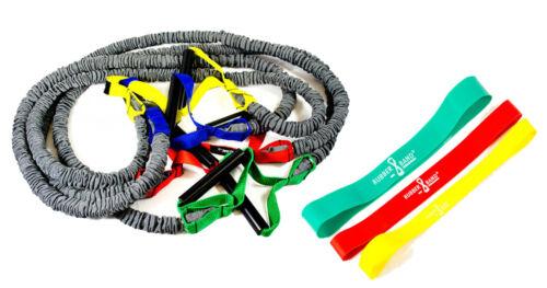 Dittmann Premium BodyTube Gymnastikband mit Plastikgriffen BONUS Rubberband