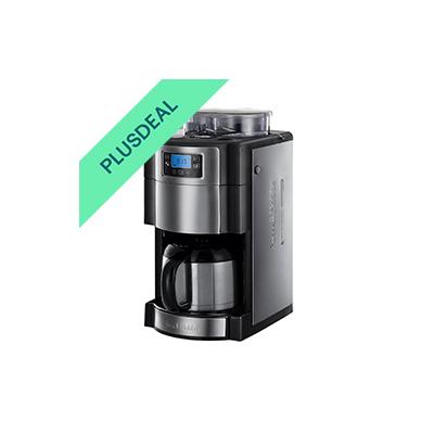 RUSSELL HOBBS Kaffeemaschine mit Mahlwerk Buckingham 21430-56 Grind&Brew 1000 W
