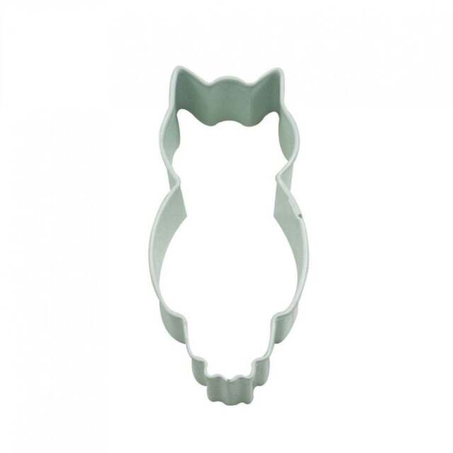The Cake Decorating Co. White Owl Cookie Cutter