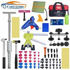 91 Paintless Dent Repair Puller Lifter Pdr Tools Kits T Bar Hammer Withline Board